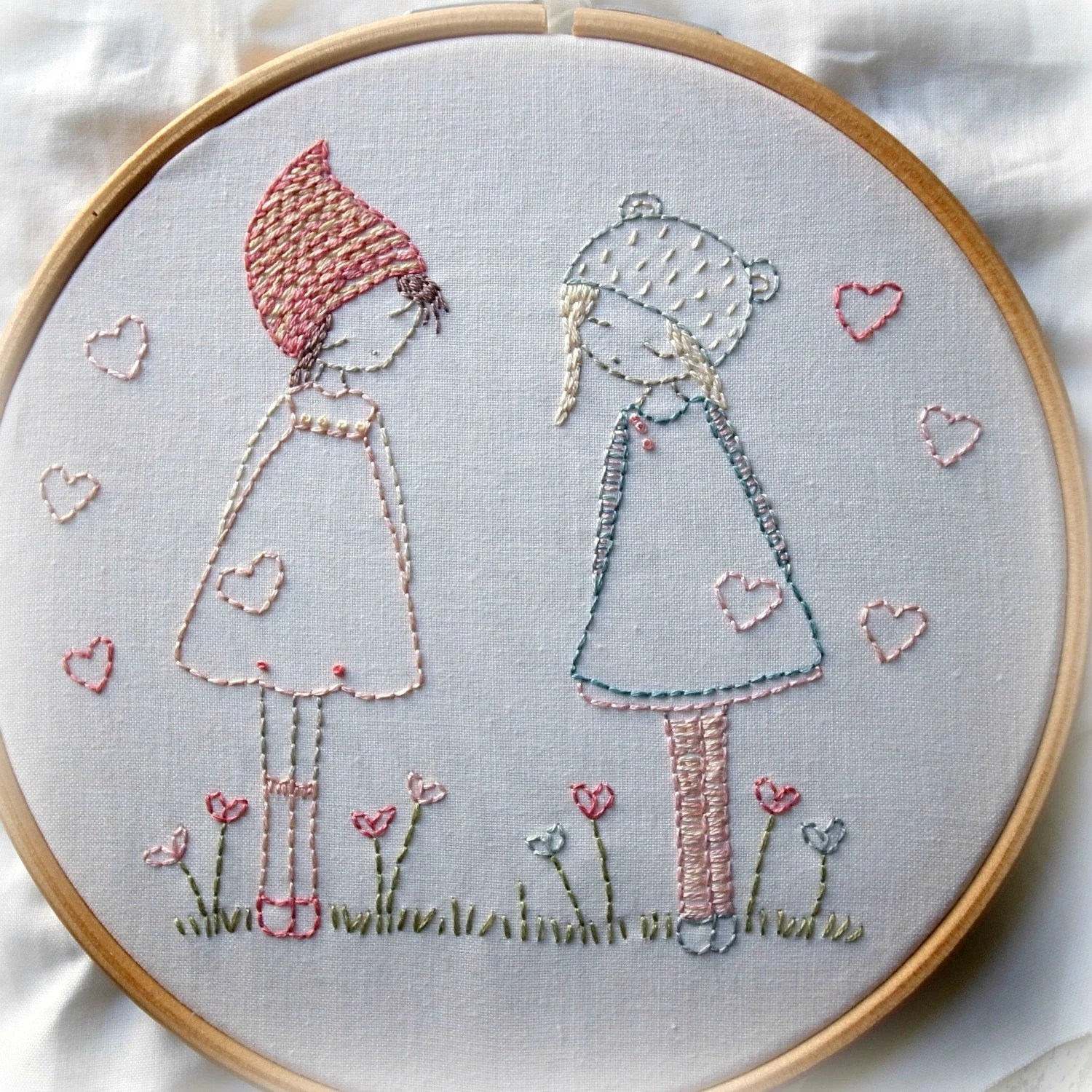 Redwork Hand Embroidery Patterns