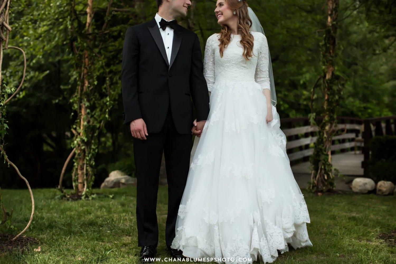Modest Wedding Dress With Sleeves And By WeddingDressFantasy