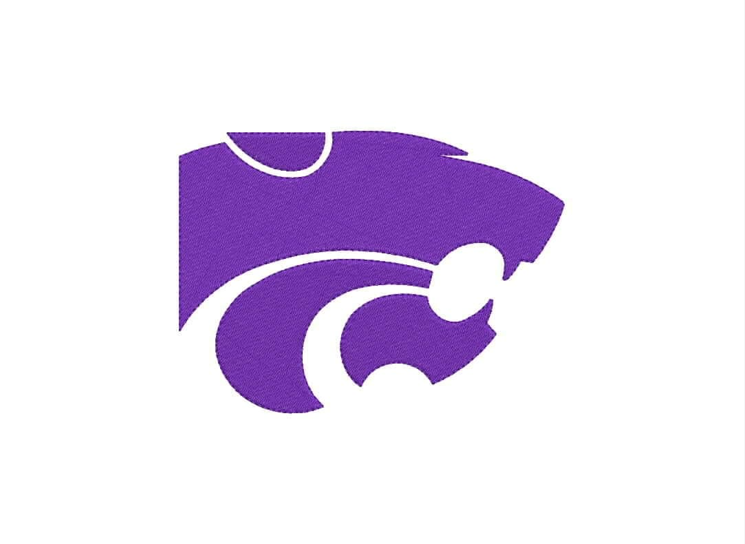 Kansas State Wildcats Logo Machine Embroidery Designs By