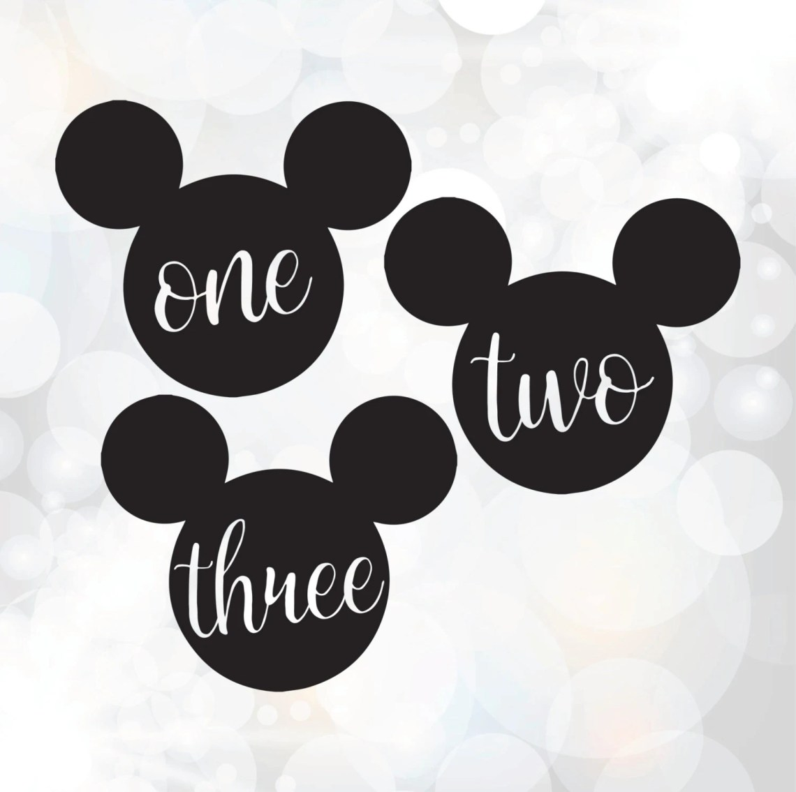 Download Birthday SVG cut files - Mickey Mouse svg - 1st, 2nd, 3rd ...