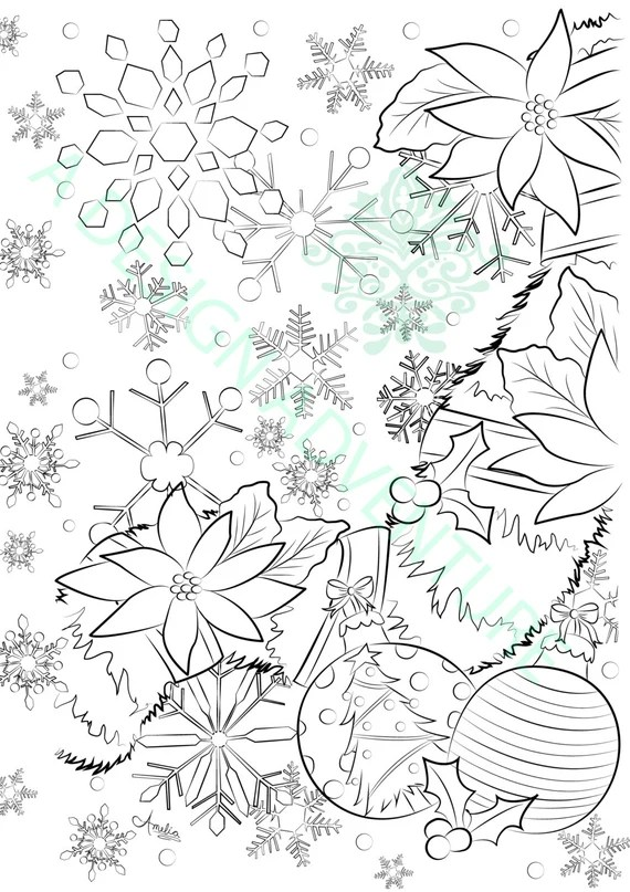 items similar to adult coloring book download printable