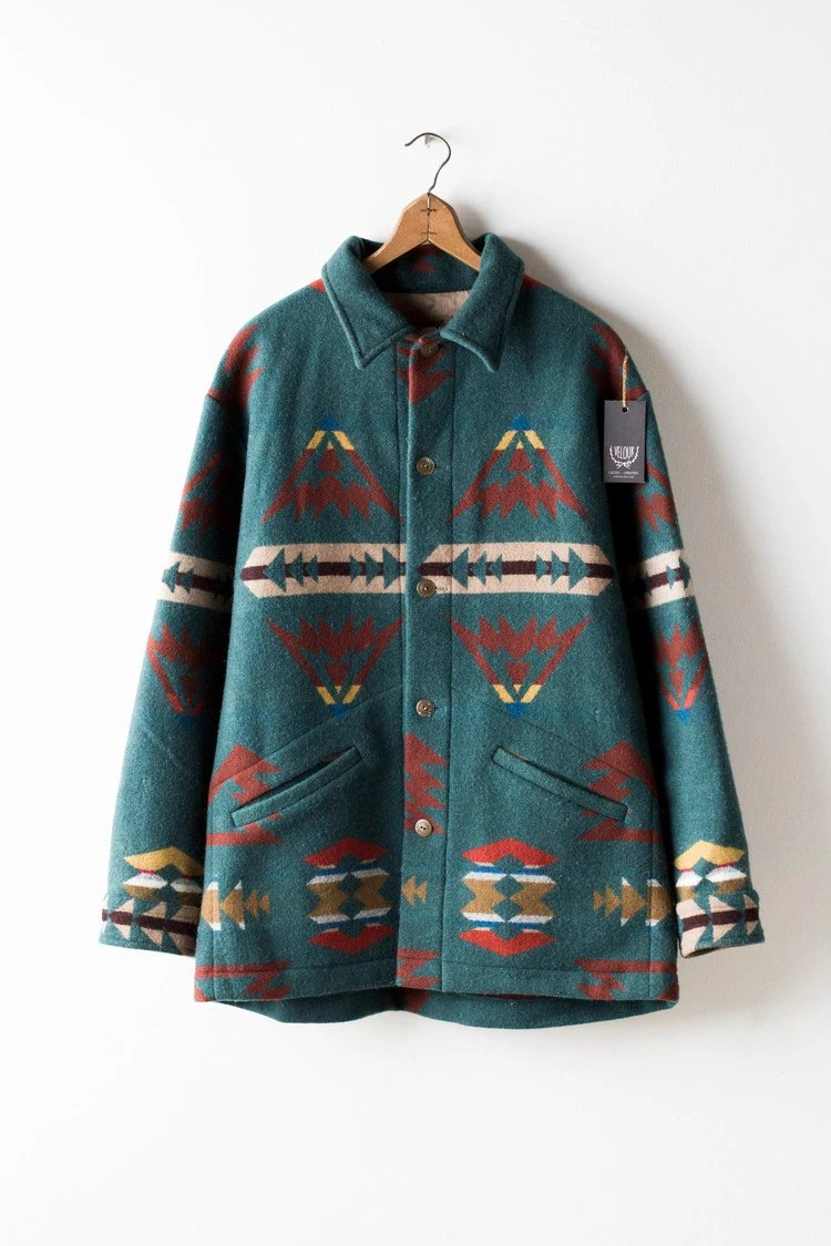Vintage Pendleton Indian Blanket Jacket