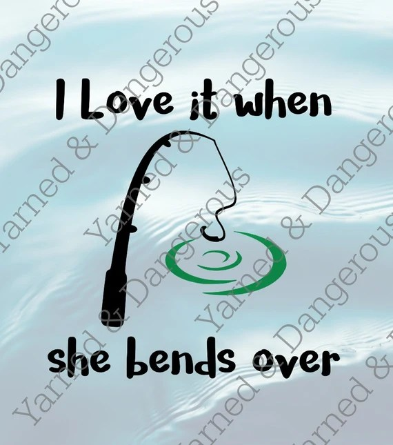Download Bend Over Fishing SVG PNG by YarnedDangerous on Etsy