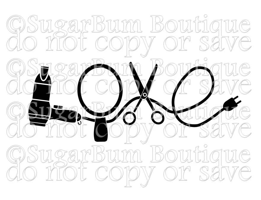 Download Love Hairdresser Hair Stylist svg