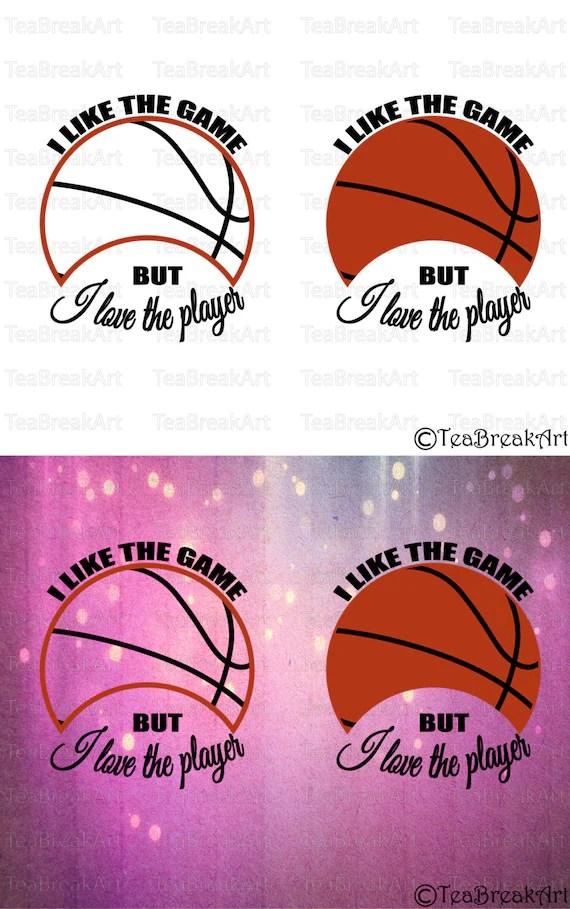 I like the game but I love the player Basketball Monogram