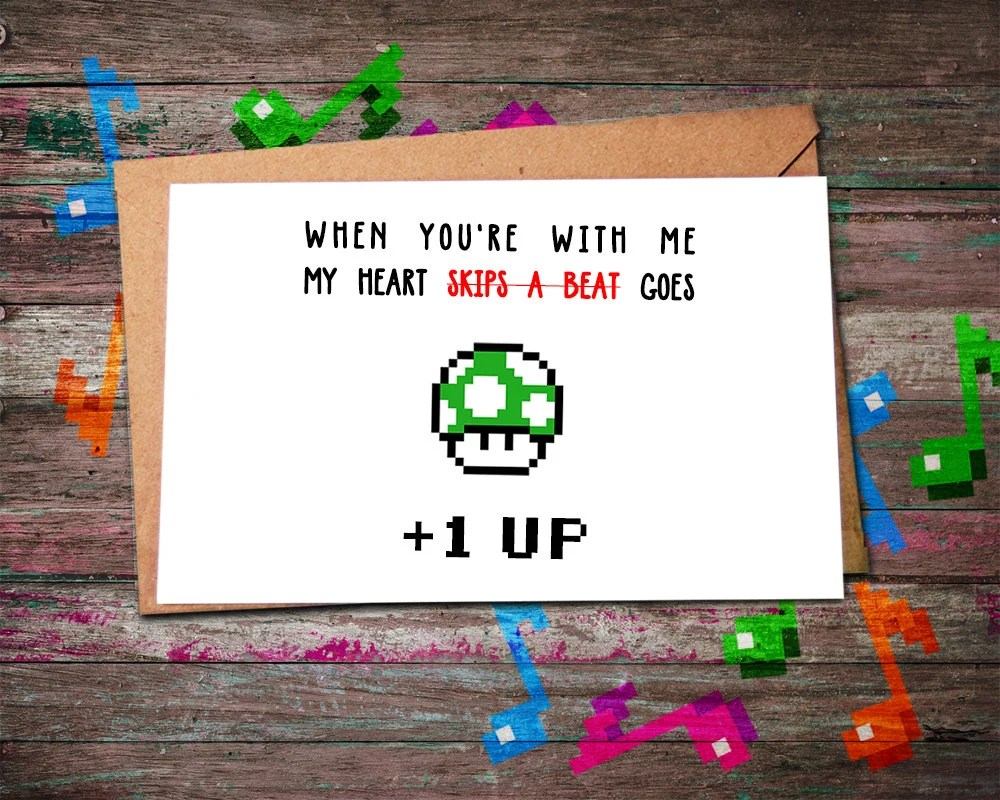 Adorable Valentines For Your Gamer Sweetheart Loading