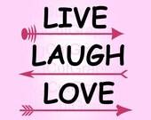 Download Live laugh love   Etsy