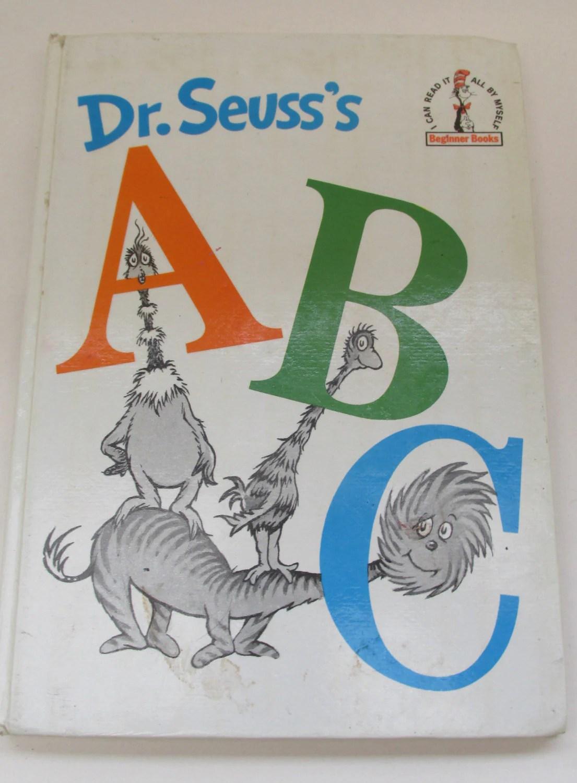 Uk 1st Edition Dr Seuss S Abc Book Vintage