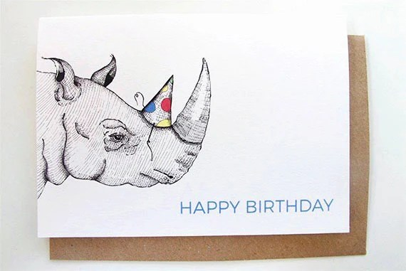 Happy Birthday Unicorn And Cupcakes Funny Birthday Card For