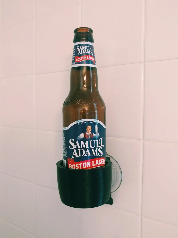 Beer Bottle Holder Shower Bathroom Bathtub Bath 3D Printed