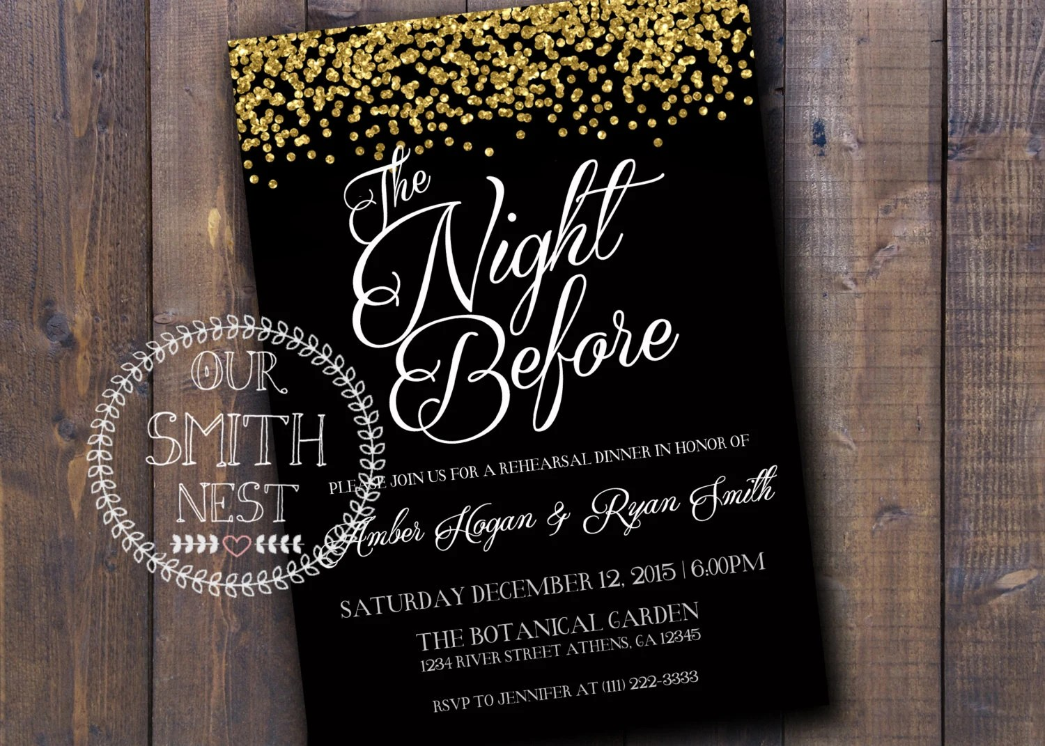 Printable New Years Invitations