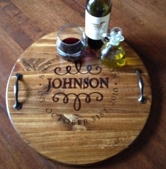 Personalized Wedding Trays