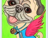 Custom Pet Cartoon Portra...
