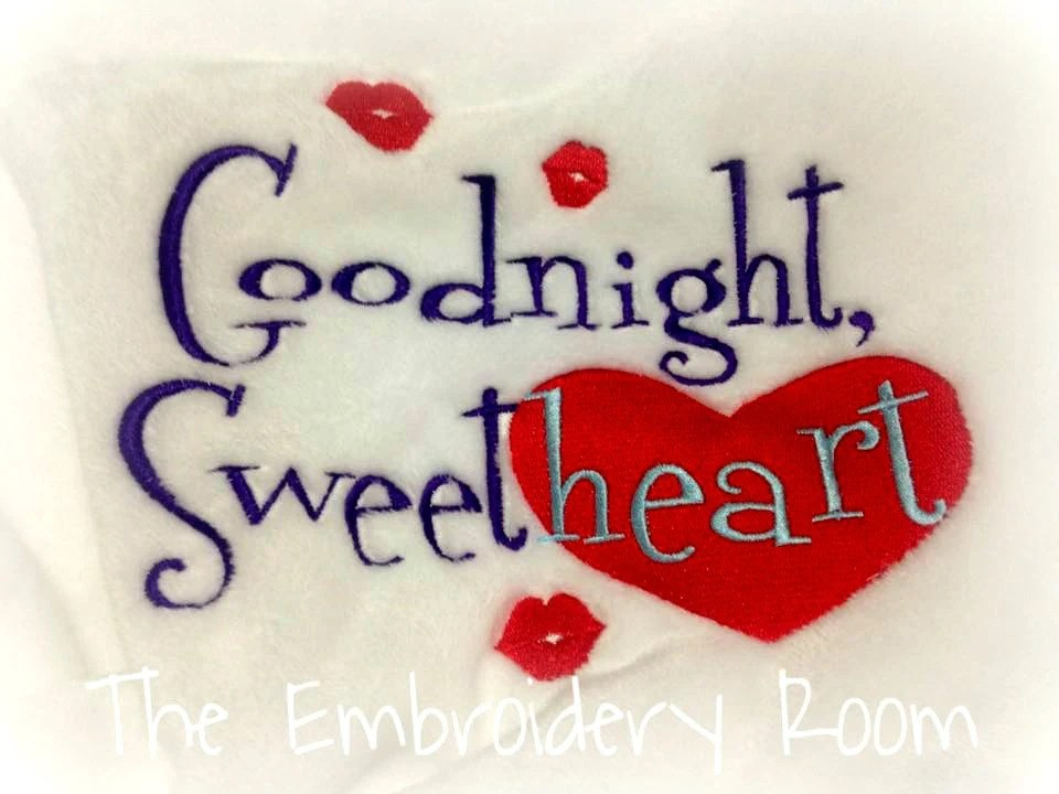 Valentine Blanket Goodnight Sweetheart