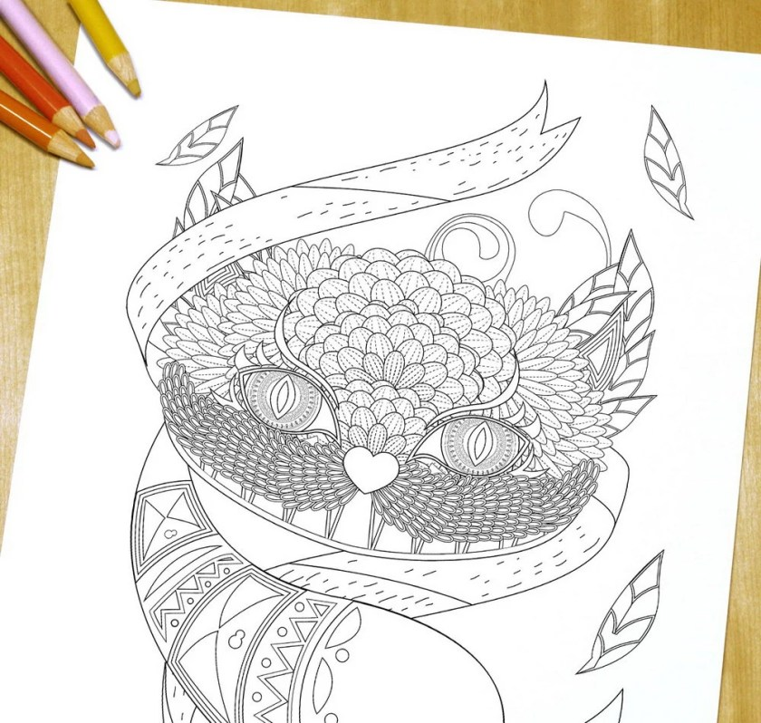 cheshire cat adult coloring page printdreamstatestudio