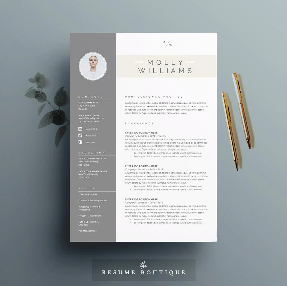 cv template cover letter for ms word instant digital zoom resume