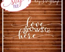 Download Unique love grows here related items   Etsy