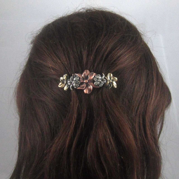 Decorative Flower Hair Combs