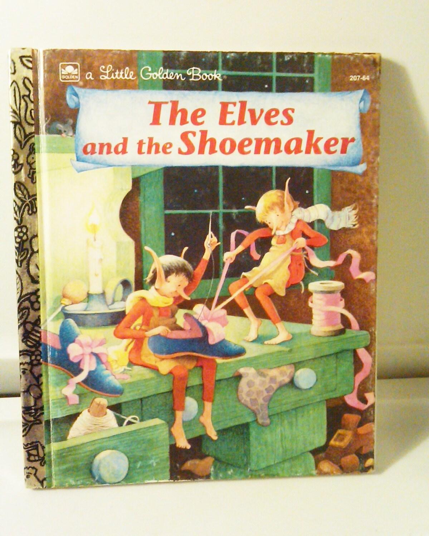 The Elves And The Shoemaker Little Golden By Antiquesatlanta
