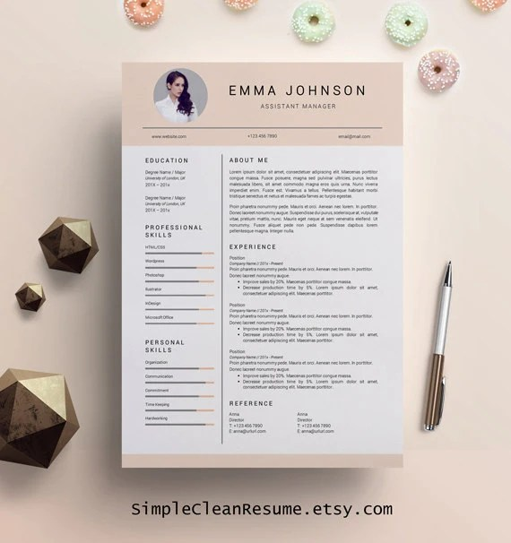 iwork really great creative resume template perfect for adding a