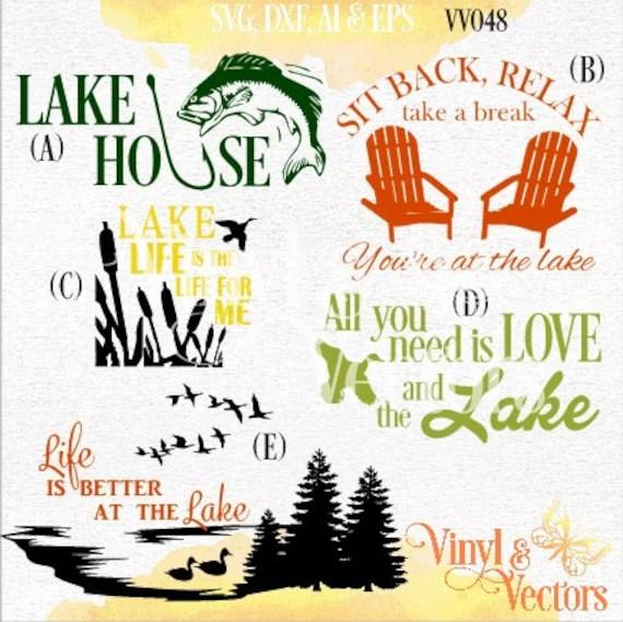 Download Lake Life Lake House Love LakeSVG vector Cut by ...