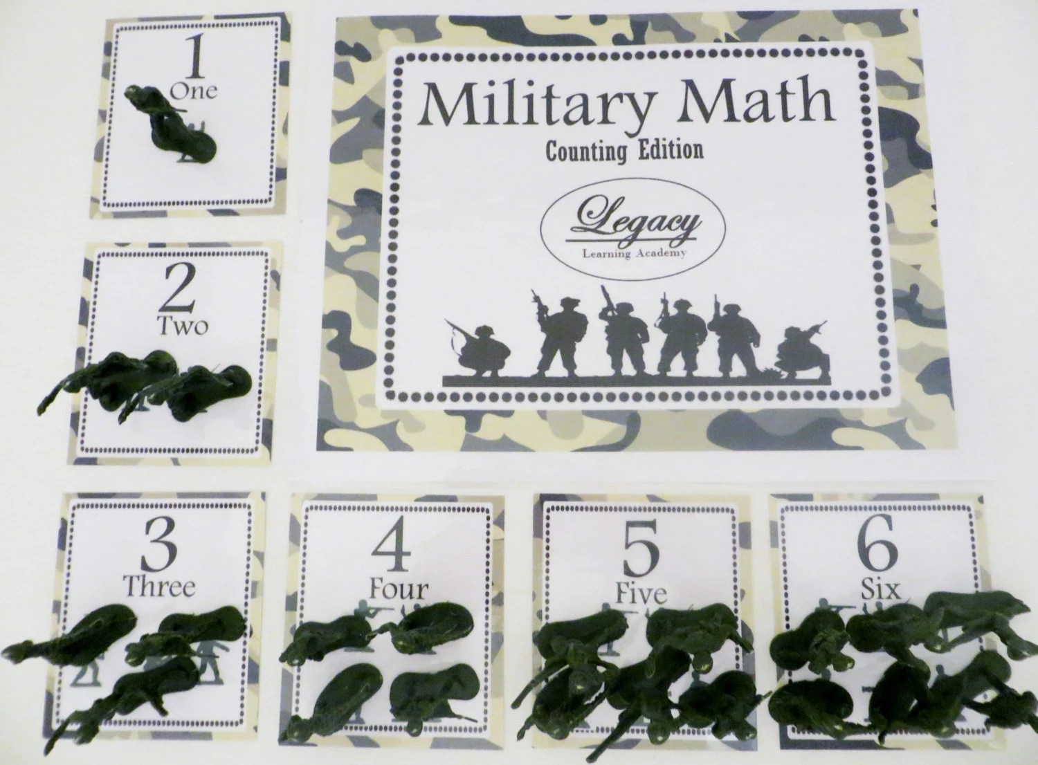 Toddler Counting Game Military Game For Kids Pre K Math