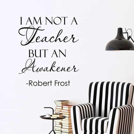 I Am An Awakener Wall Quote by FabWallDecals