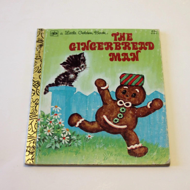 A Little Golden Book The Gingerbread Man