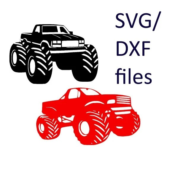 Download monster truck design svg files for cricut cars by ...