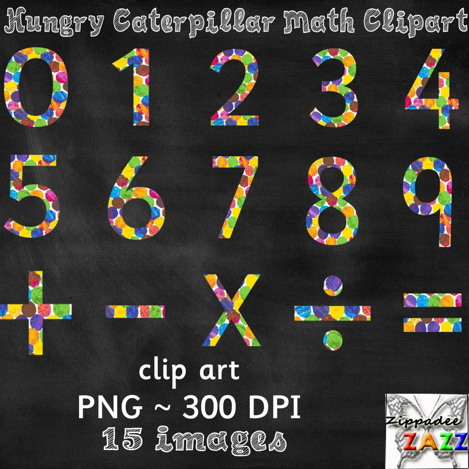 The Very Hungry Caterpillar Math Numbers By