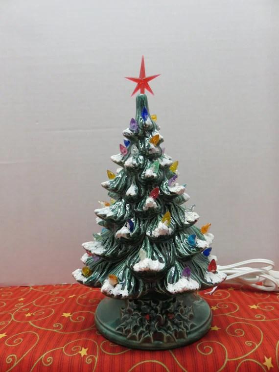 Ceramic Light Christmas Tree Bulbs