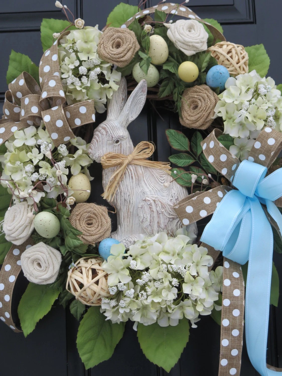 Easter Door Wreaths Easter Bunny Wreaths By Hollyhillwreaths