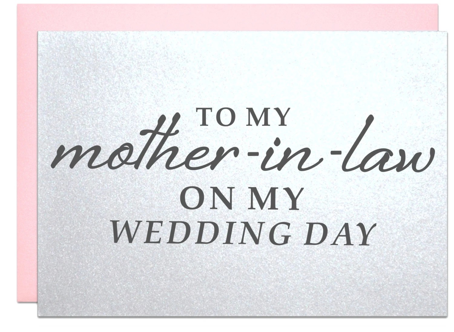 Mother In Law Wedding Card Gifts For Mother-in-law By