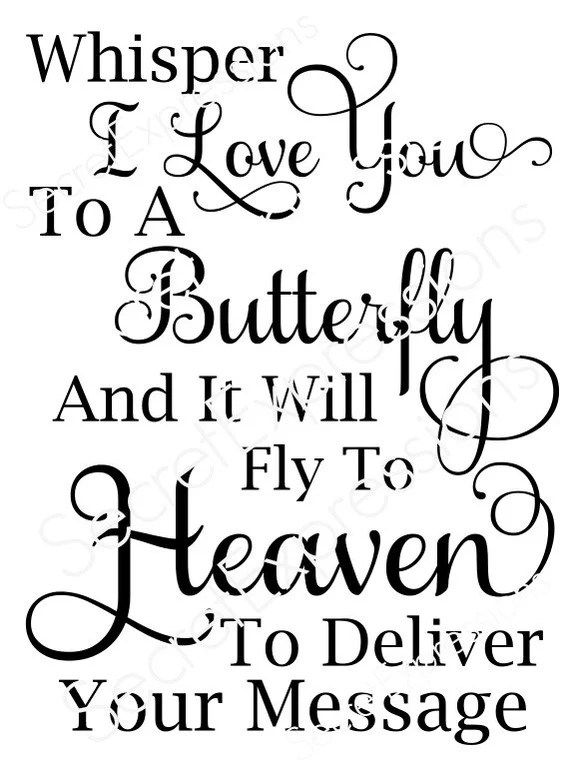 Download Whisper I Love You to a Butterfly and it by ...