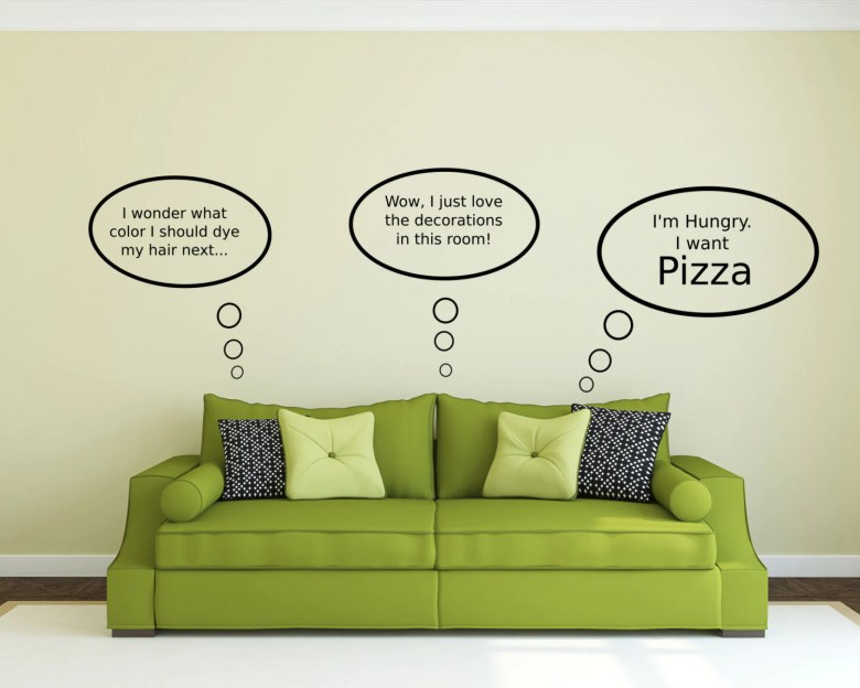 Customizable Thought Bubble Decals by JadeDecals