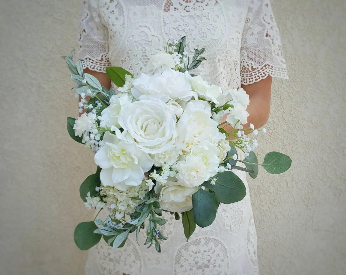 Wedding Bouquet Silk Flower Bouquet Wedding Flowers