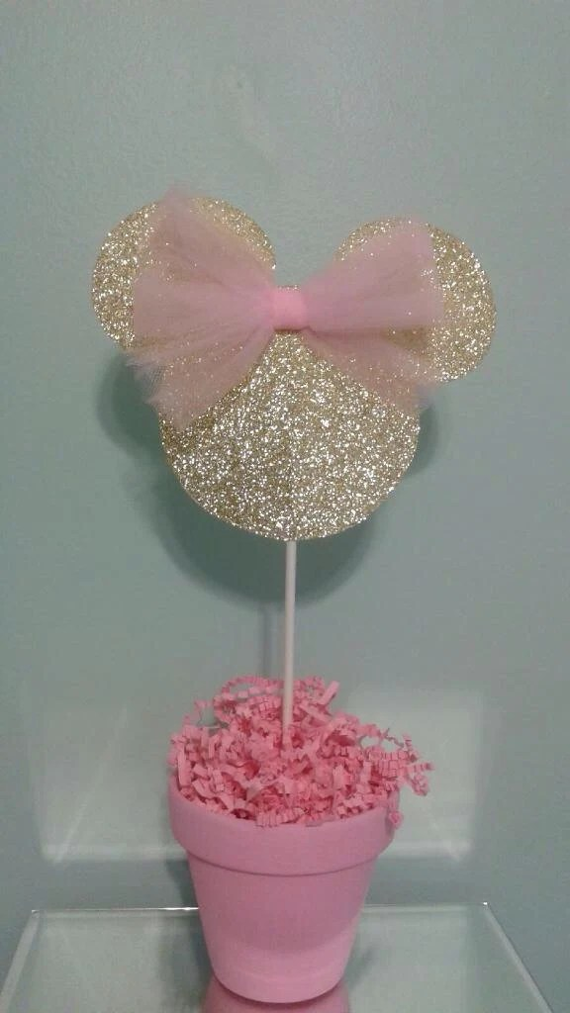 Invitaciones Hacer Baby Mouse Shower Para De Como Minnie