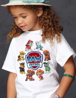 Paw Patrol Iron On Transfer Shirt -Paw Patrolr DIY Iron On Transfer - Paw Patrol Shirt - Paw PatrolBirthday Printable-Paw Patrol Clothing