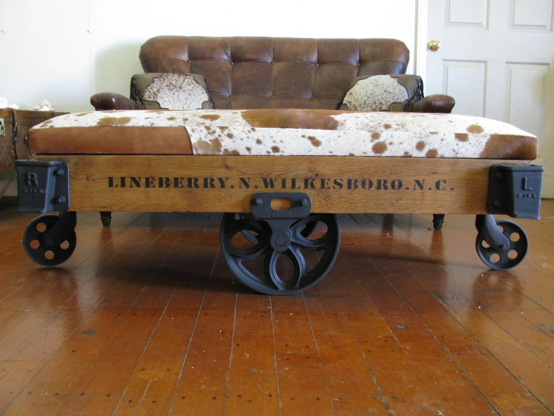 Repurposed Authentic Original Lineberry Industrial