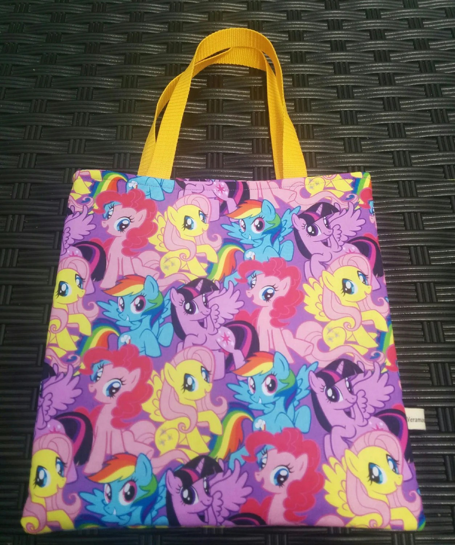 My Little Pony Tote Pre School Tote Kids Tote Pre K Tote