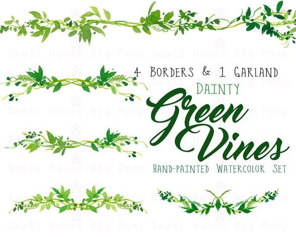 Vine Border Wedding