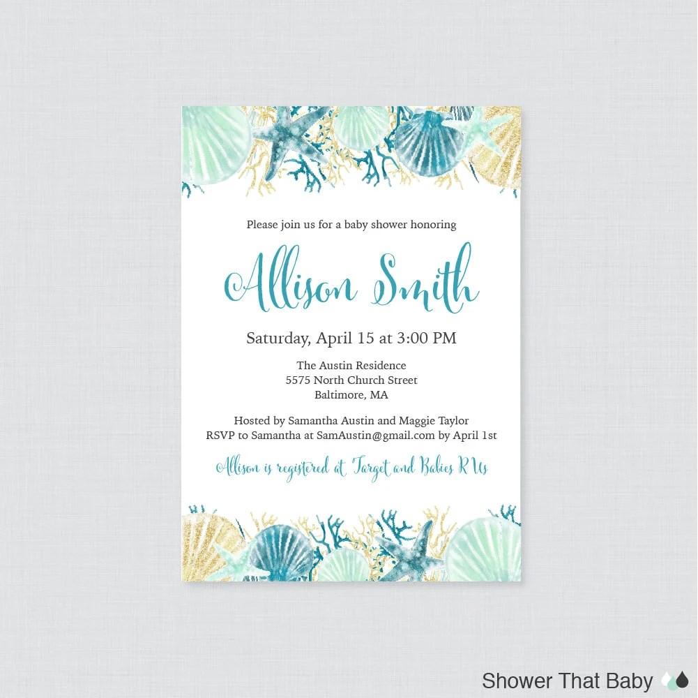 Printable Nautical Invitations