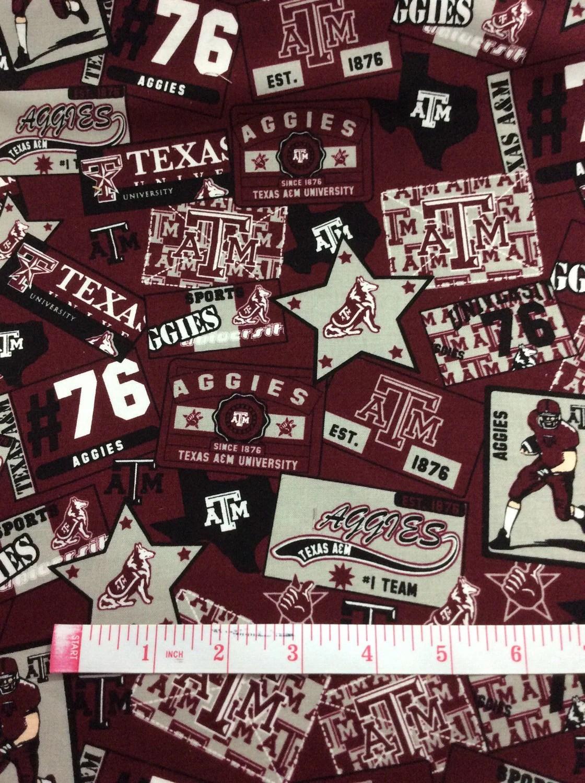 Texas A Amp M University Fabric