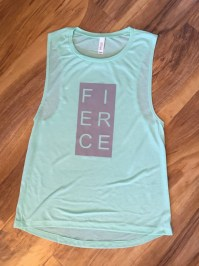 Fierce Women's Fitness Muscle Tank Top