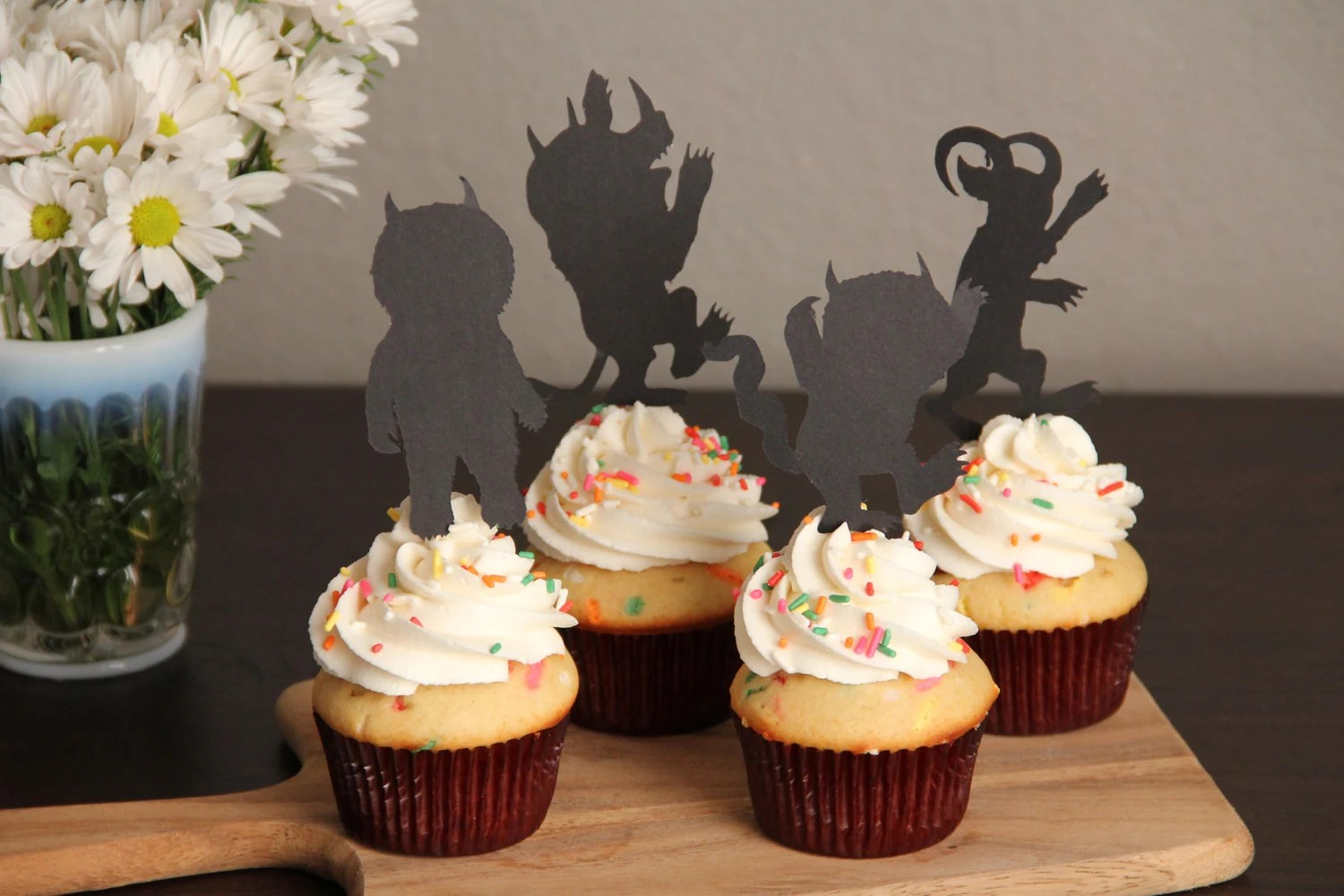 Where The Wild Things Are Cupcake Toppers Set Of 6