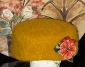 Golden Pill Box Hat...