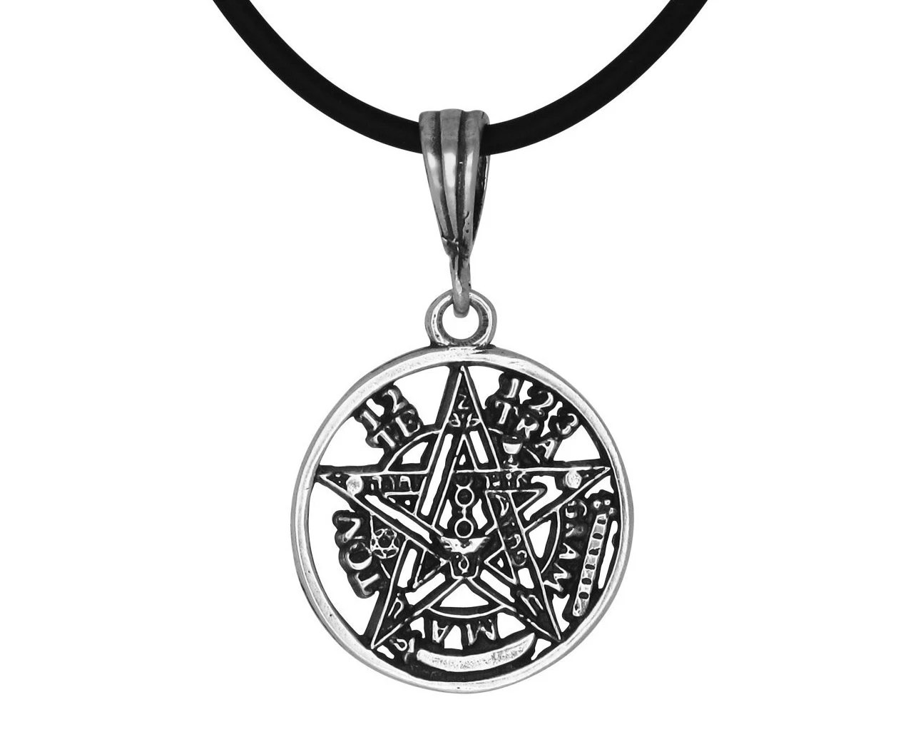 Eliphas Levi Tetragrammaton Pentagram Sterling Silver 925