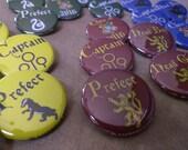 Hogwarts House colors but...