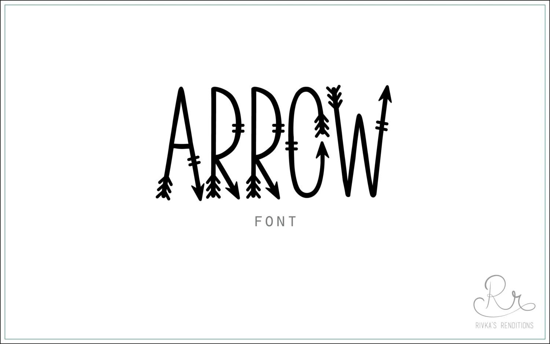 Arrow Font Download Otf Ttf Open Type Fonts Digital
