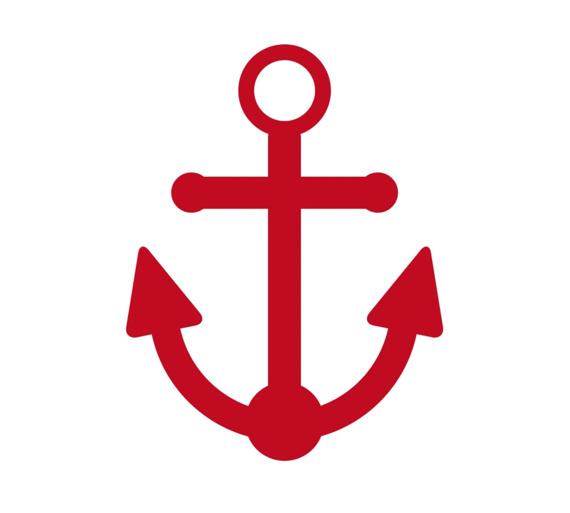 Download SVG Anchor Cuttable File INSTANT DOWNLOAD for use with
